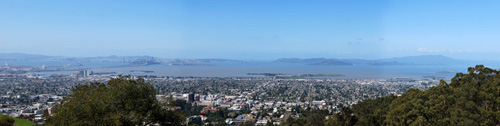 Berkeley from Lawrence Hall of Science